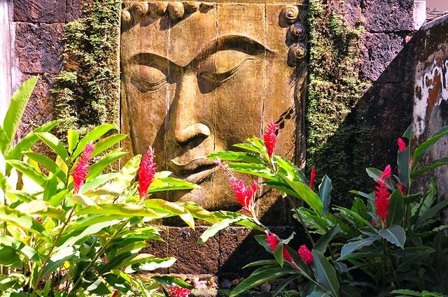 Buddha, Vila Cini, Chiang Mai
