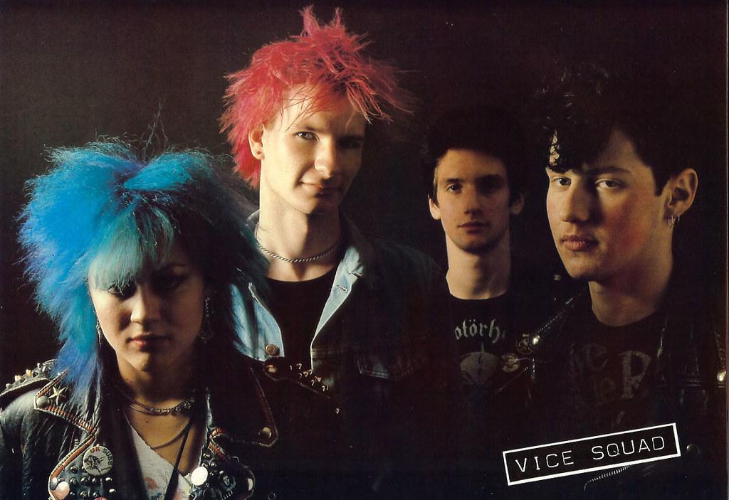 Retrospace Vintage Musicians 8 1980s Punk Bands Part II