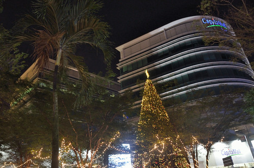 Christmas decoration on Orchard Road