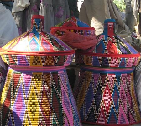 traditional ethiopian baskets