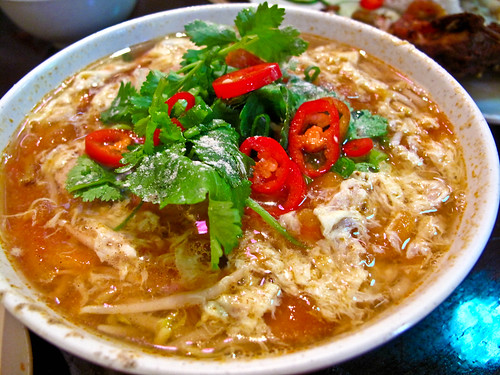 IMG_1275  Vietnamese tomato soup noodle,越式番茄汤粉