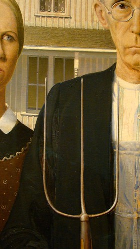 American Gothic ~ Chicago Institute of Art