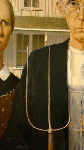 American Gothic ~ Chicago Institute of Art