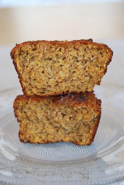 Pumpkin rye muffins