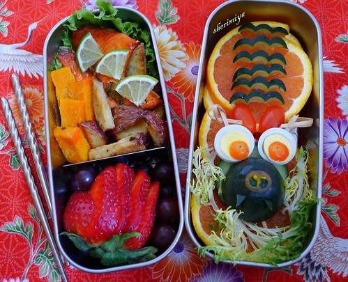 Chinese New Year Dragon Bento by sherimiya ♥