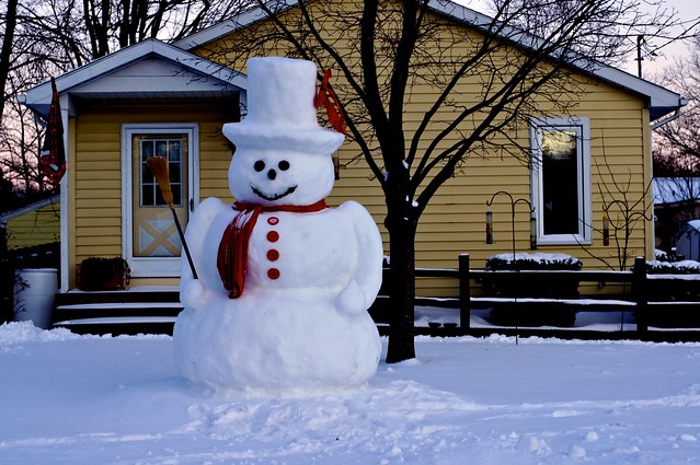 The Real Frosty the Snowman?