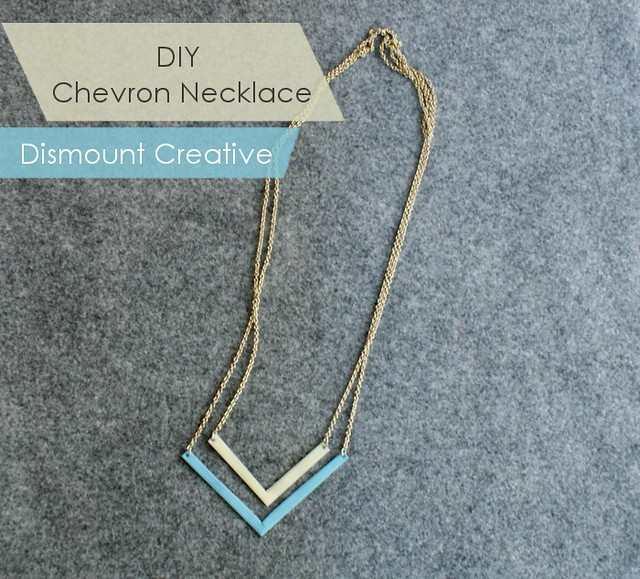 diychevronnecklace