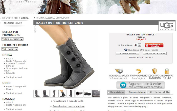 ugg outlet castel romano