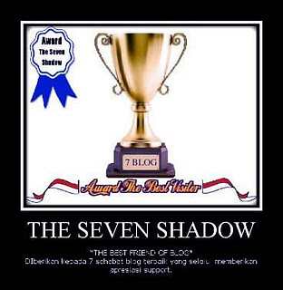 "Award - ""THE SEVEN SHADOW"""
