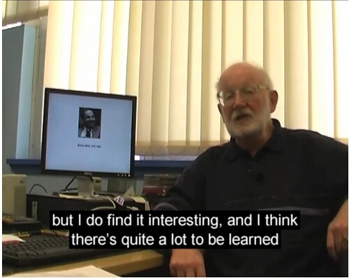 Captioned video of Dr Mike Steer