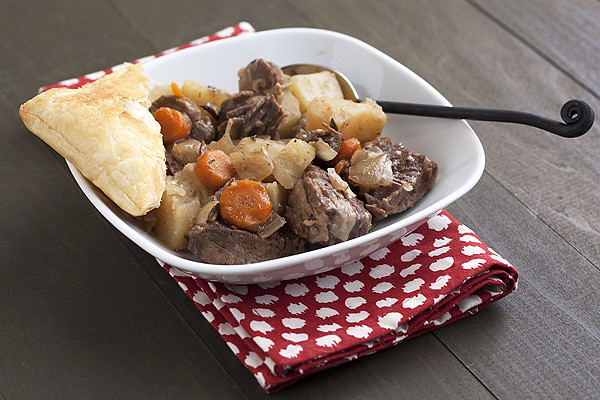 Slow-Cooker Steak & Guinness Pie - Handle the Heat