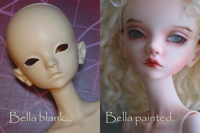 "Doll Chateau Bella ""Before and After"""