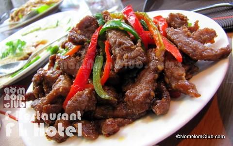 Sichuan / Sechuan Beef