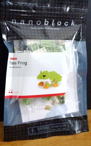 Nanoblock - Tree Frog