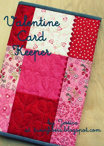 Valentine Card Keeper for Simply Charmed Blog Hop