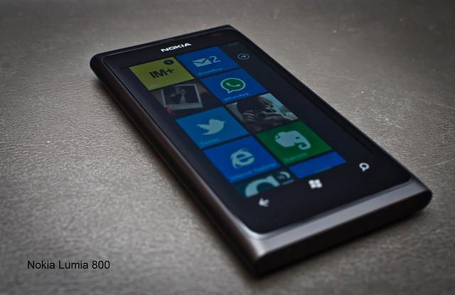 115/366: Nokia Lumia 800