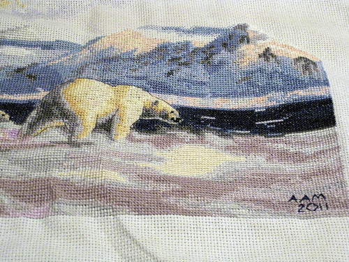 Polar Bear 10 - Finish! Detail