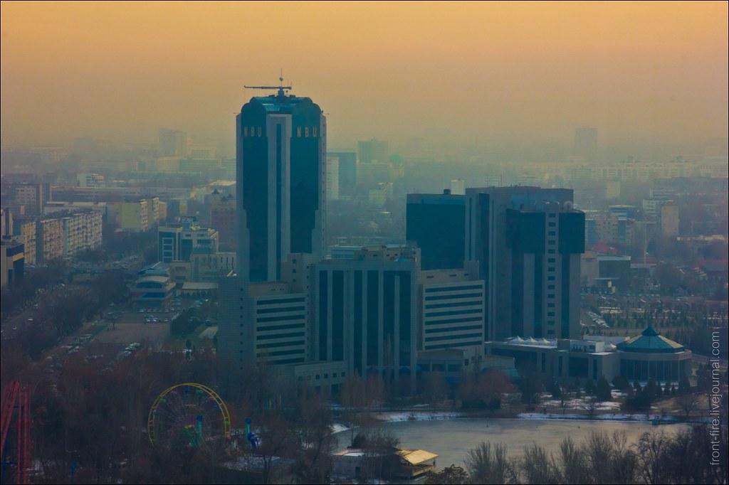 Национальный банк Узбекистана. Ташкент