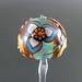 Single bead : 3 Petal iris