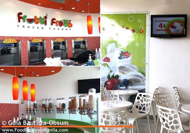 Frutti Froyo interiors