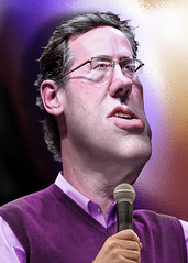 Rick Santorum - Caricature
