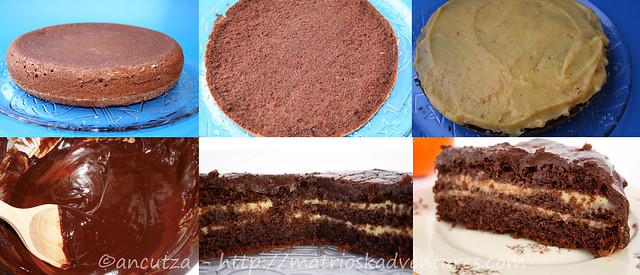 ricetta con foto Preparazione Torta al cioccolato e arance