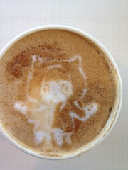 Today's latte, github 404. Celebrate my first git init last weekend!