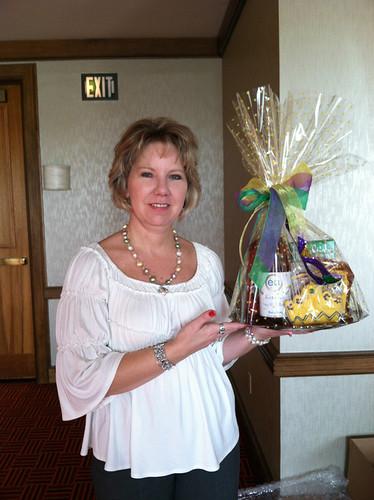 Frederick Basket Company Mardi Gras Gift Basket