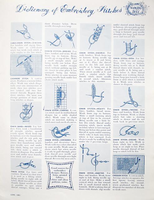embroidery stitch - Dictionary Definition : Vocabulary.com