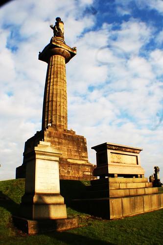John Knox Monument, Glasgow Necropolis