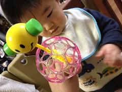 オーボール串刺し(2012/1/30)