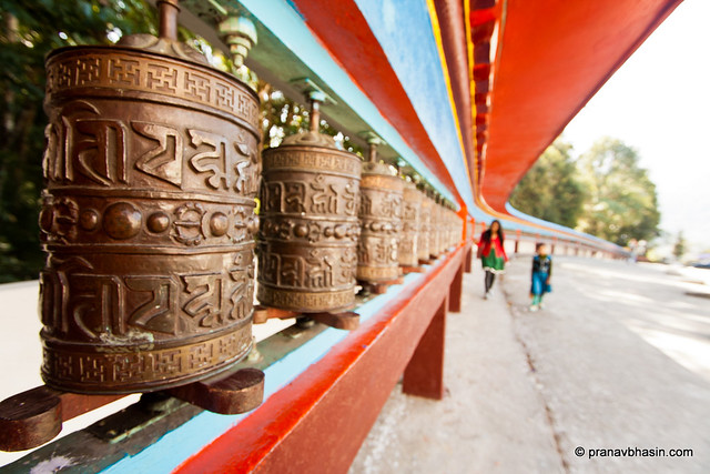 108 Prayer Wheels