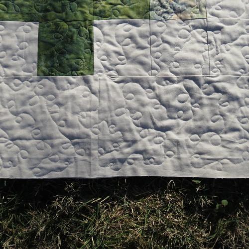 Batik Crosses Quilt