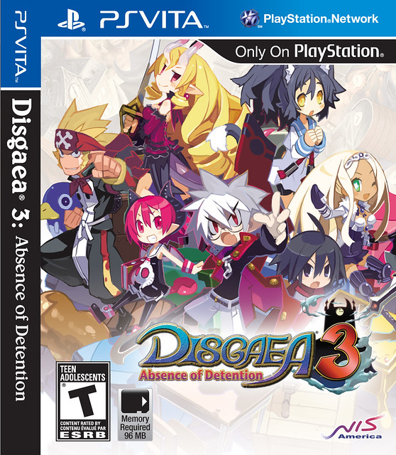 Disgaea 3: Absence of Detention for PS Vita
