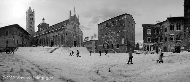 Neve a Massa Marittima