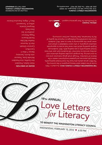 2012 Love Letters Invite