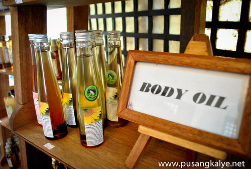 sonya's body oil