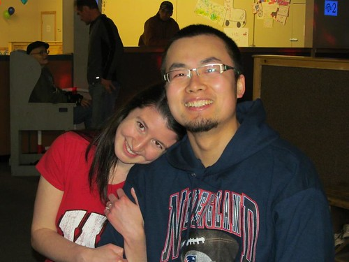 A white American Christian woman and her Chinese fiancee