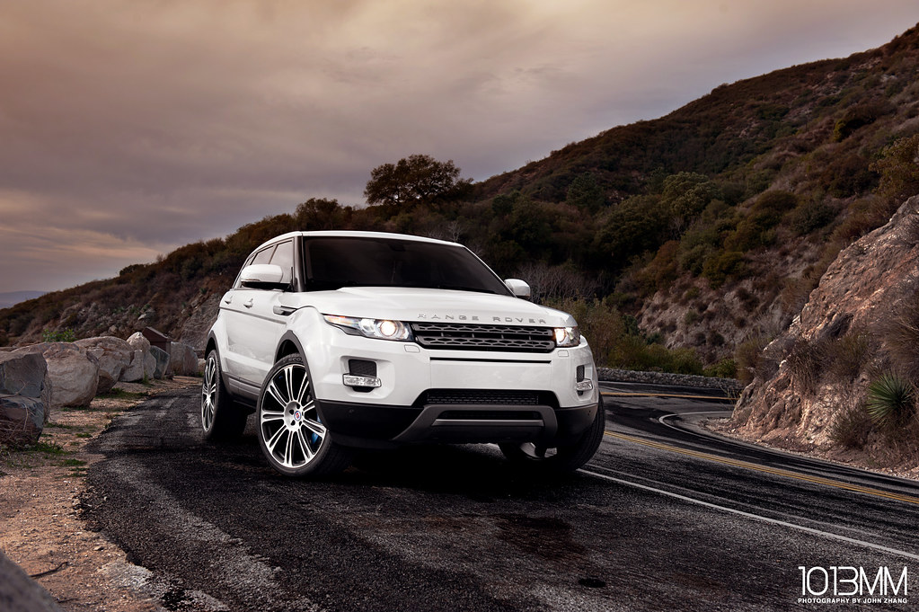Rotora x HRE Wheels Land Rover Evoque