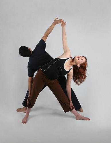 Triangle Pose by Jasmine Kaloudis (synergybyjasmine.com)