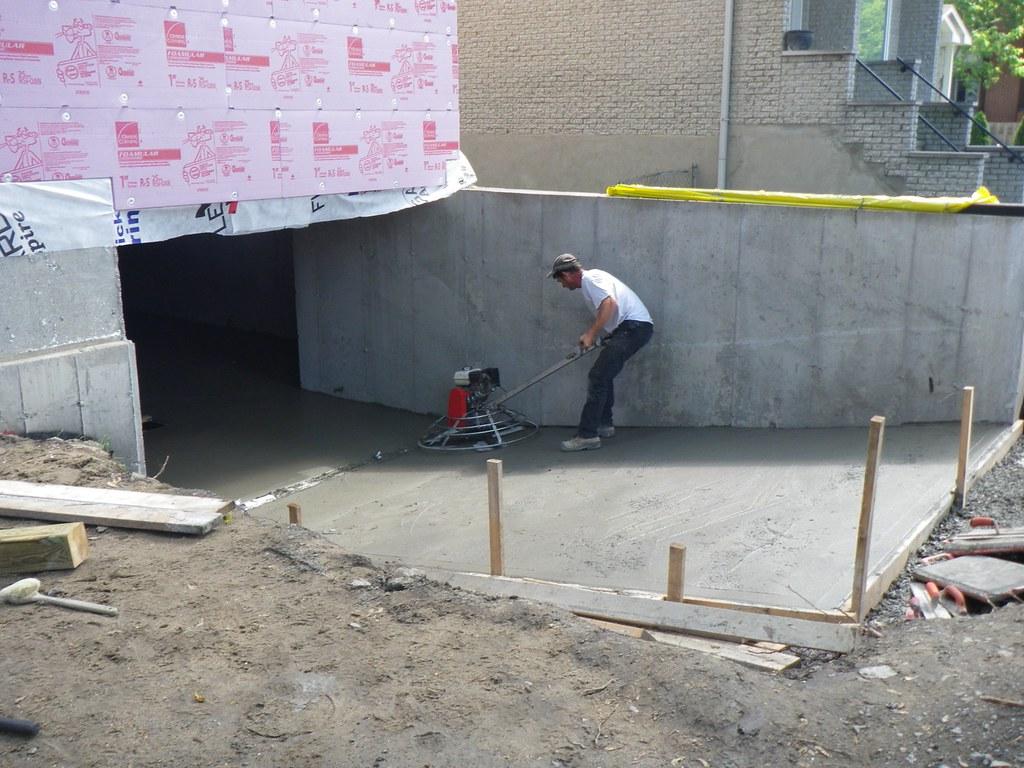 Plancher et dalles de b ton coffrage et finition de b ton gesco - Finition dalle beton exterieure ...