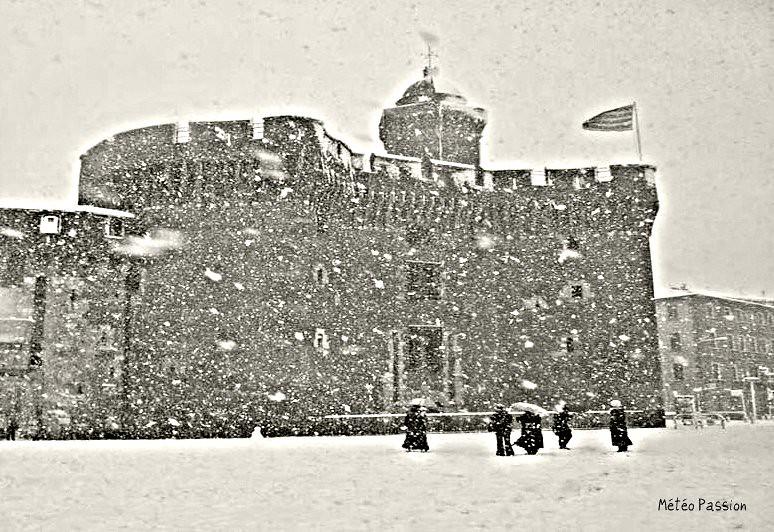 chutes de neige des 4 et 5 février 1954 à Perpignan météopassion