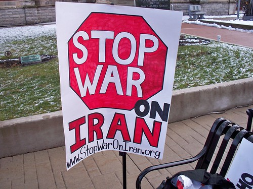 Defiance, OH rally against war on Iran