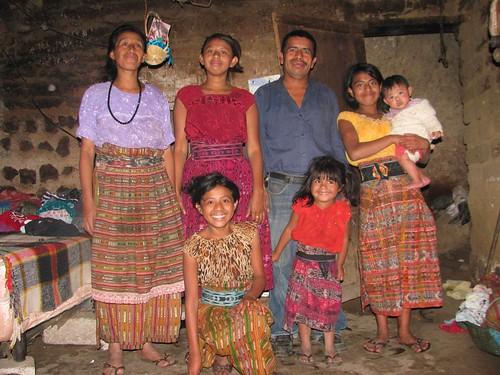 Josefina Coche Gonzalez and family