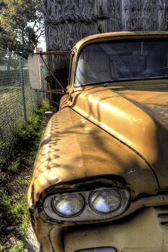 Old Truck in Palo Alto (HDR)