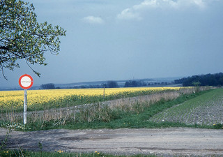 Döhren - Looking toward East Germany