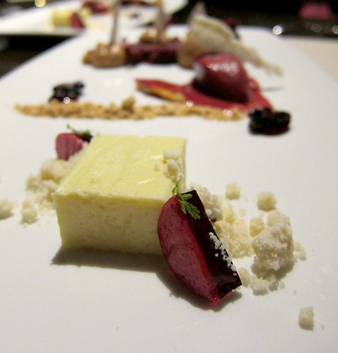 Foie Gras Cheesecake