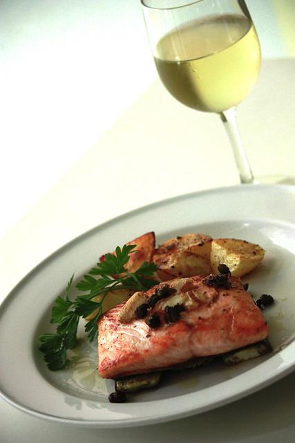 salmon at cibo