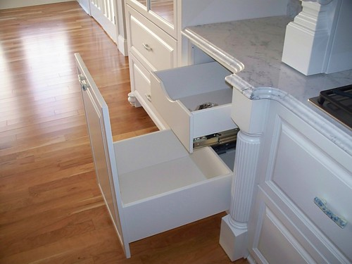 kitchen pull-out storage solutions