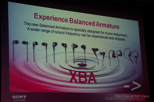 Sony Experience Balanced Armature